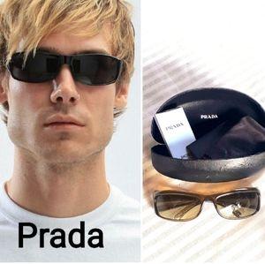 Authentic prada sunglasses unisex men women
